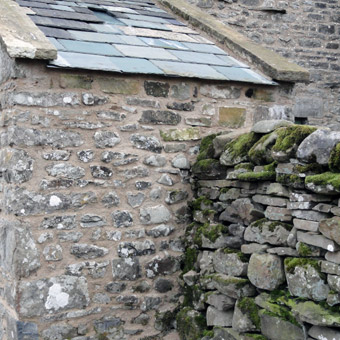 Hydraulic lime pointing